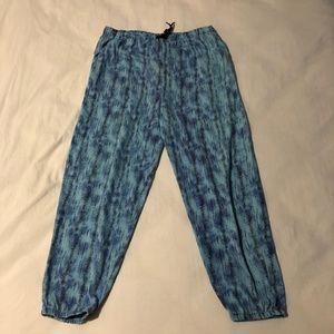 Vintage Light Royal Blue Sweat pants Joggers